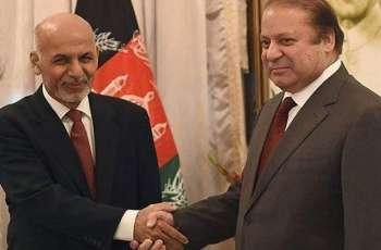 وزیر اعظم محمد نواز شریف دی شنگھائی تعاون تنظیم دے سربراہ اجلاس دے موقع تے افغان صدر اشرف غنی نال ملاقات