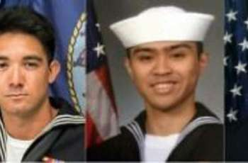 US Navy to hold Japan memorial for sailors killed in crash