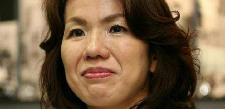 Female Japan politician resigns after attacking male aide