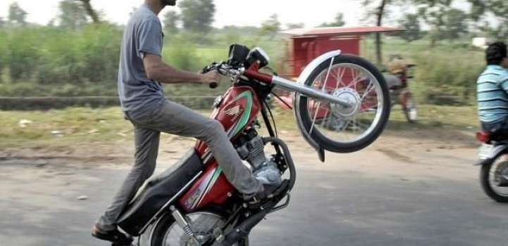 Over 1,000 policemen deployed to thwart one wheeling on Eid