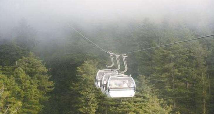 12 perish as cable car falls