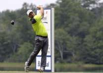 Golf: Collins shoots 60 to surge into Barbasol lead