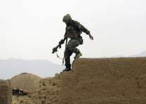 16 Afghan police killed in US strike: officials