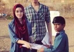 کراچی دے رہائشی بھین بھراواں نے غریب بالاں نوں تعلیم دین لئی سکول کھول لیا