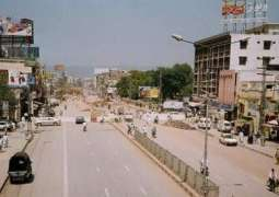 Tulsa Road becoming Murree road of Cannt area