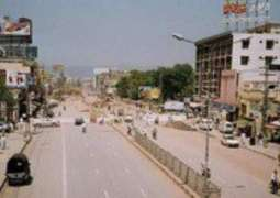 Tulsa Road becoming Murree road of Cantt area
