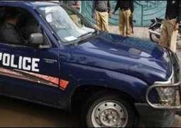 دہشت گرداں دی پولیس موبائل تے فائرنگ: اے ایس ائی سنے 2اہلکار تے اک راہ جاندا بال ہلاک