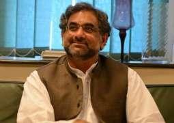 نواز شریف نے عبوری وزیر اعظم لئی شاہد خاقان عباسی دا ناں مِتھ دتا