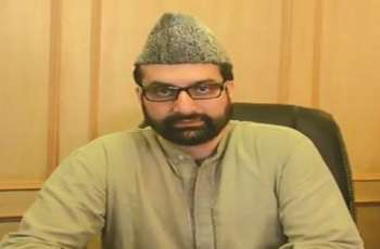 Image result for Mirwaiz Welcomes Outgoing Pak Envoy's Kashmir Stance
