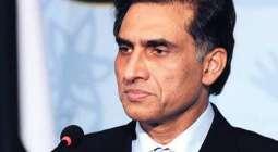 امریکا اچ پاکستان دے سفیر اعزازچودھری دی پاک امریکن بزنس ایسوسی ایشن دے وفد نال ملاقات