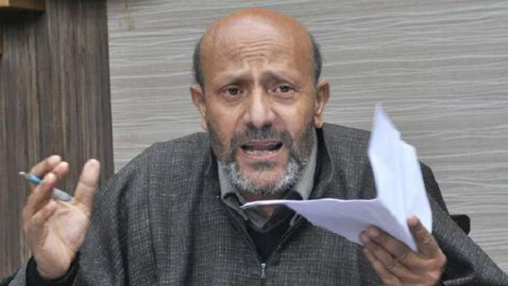 Image result for ER Rasheed Holds March in Srinagar