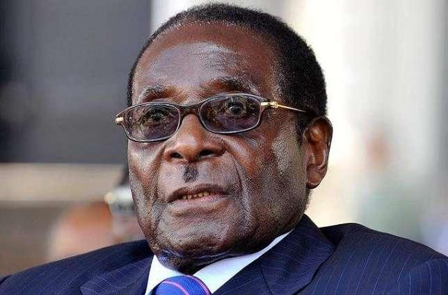 Zimbabwes Mugabe Returns From Singapore Medical Care | Pakistan Point