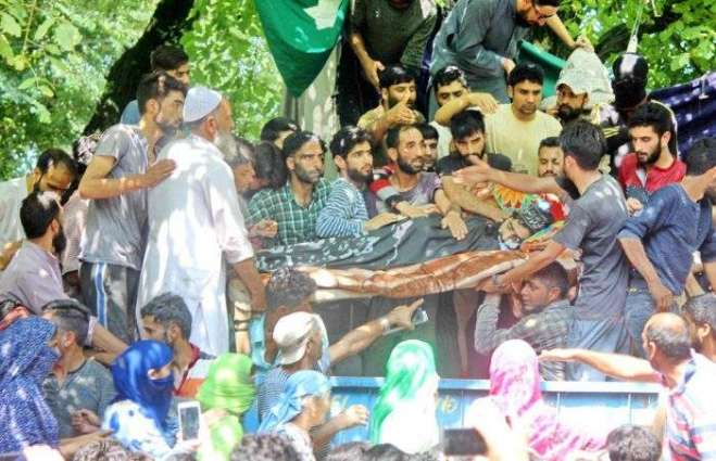 Image result for Glowing Tributes Paid to Martyred Youth in IOK.