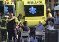 Spain police hunting 4 suspects linked to twin attacks: report