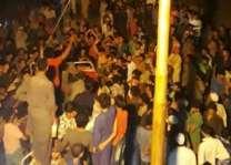 Protest against custoidal killing of Handwara student