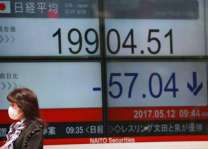 Tokyo stocks close down after Trump threats
