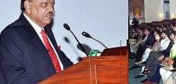الرئيس الباكستاني: باكستان ستكون بلداً خالية من مرض شلل الأطفال قريباً