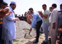 پشاور زلمی دا خیبر پختونخوا وچ 100کرکٹ پچز دا تحفہ