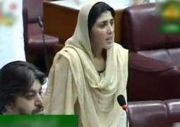 عائشہ گلا لئی نے قومی اسمبلی دی رکنیت چھڈن توں انکار کر دتا