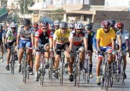 Cycling competition on independence day
