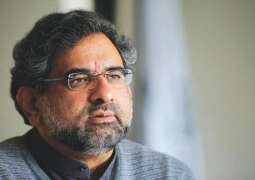 To a query, Shahid Khaqan Abbasi said he was nominated for