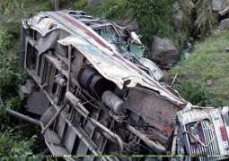 3 killed, 8 injured in bus crash in Indian occupied Kashmir
