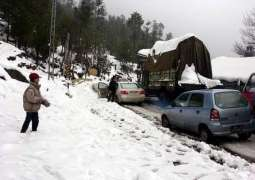 Above 20,000 tourists daily visit Murree
