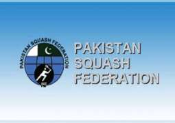 Six squash players to participate in different int'l competitions
