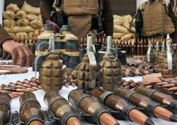 FC seizes huge quantity of arms, ammunition in Khyber Agency