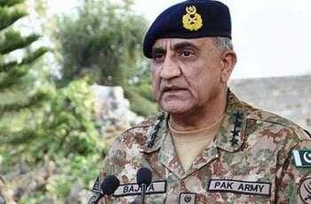 رئيس أركان الجيش الباكستاني يؤكد على ضرورة التعاون والجهود المشتركة لجلب الحرب الطويلة في أفغانستان إلى ختامها المنطقي