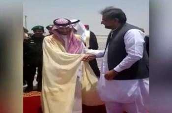 وزیر اعظم 1 دن دے دورے اُتے سعودی عرب پہنچ گئے