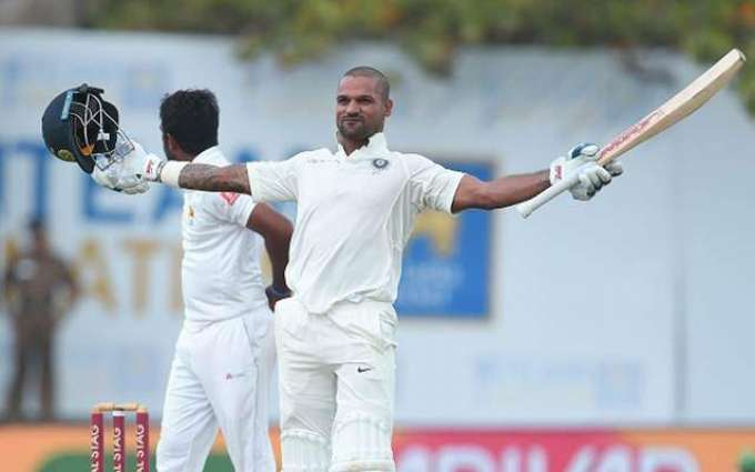 Cricket: Spinners put India on backfoot after Dhawan ton