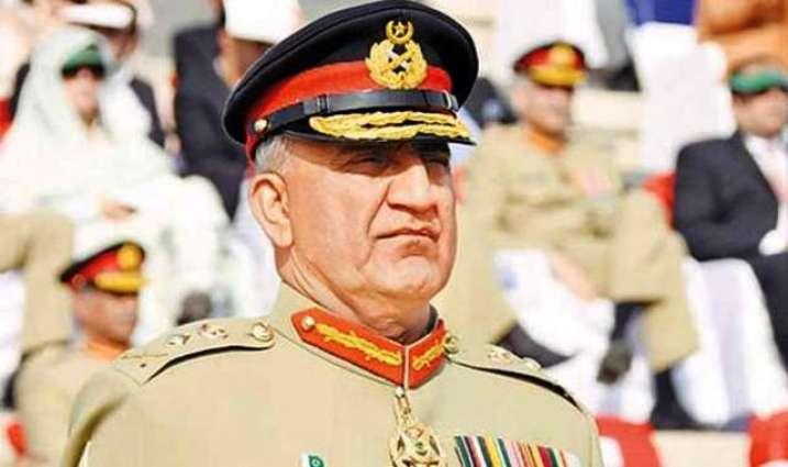 رئيس أركان الجيش الباكستاني يزور منزل رائد علي سليمان لتقديم التعازي في وفاته