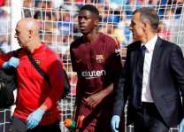 Football: Barca lower Dembele recovery time after operation
