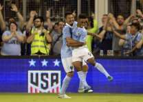 Football: Sporting Kansas City tame Red Bulls to win US Open Cup