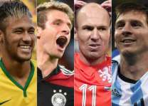 Football: Neymar, Ronaldo, Messi on FIFA best player shortlist