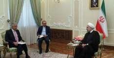 وزیر خارجا خواجا آصف دی ایرانی صدر نال ملاقات