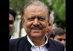 President Mamnoon in Kazakhstan to attend OIC Summit on science, technology