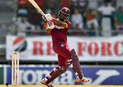 Cricket: West Indies 101-2 after 21 overs of 1st ODI