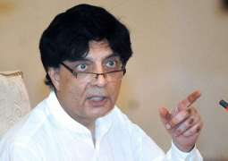 Unprecedented house-cleansing done in last four years: Nisar