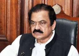 Sharifs should not appear before NAB: Rana Sanaullah
