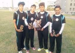 IMSB Jhang Syedan win WAPDA T-12 Cricket tournament