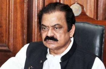 Sharifs should not appear before NAB: Rana Sanaullah
