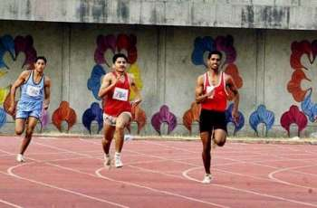 Multan athletic team trials held at divisional sports ground
