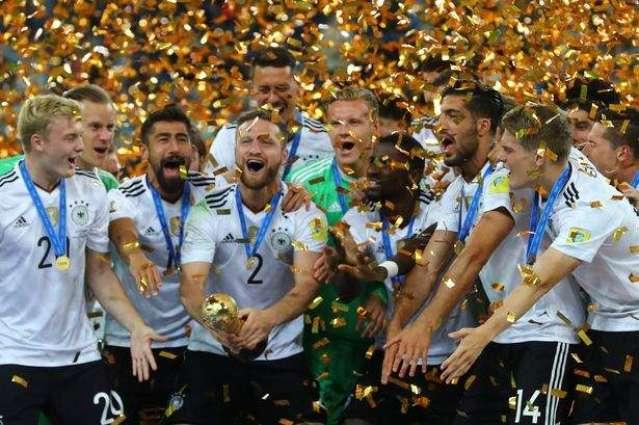 Football: Germany top FIFA rankings