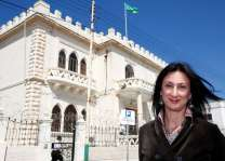 EU 'horrified' by car bomb murder of Malta journalist