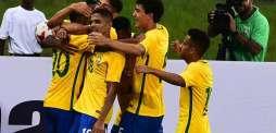 Football: Brazil set up U-17 quarters clash with Germany