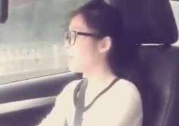 سوشل میڈیا اُتے چینی کُڑی دی پنجابی گانا گاندے ہوئے ویڈیو وائرل