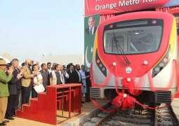 پنجاب حکومت دا اورنج لائن میٹرو ٹرین مگروں بلیو لائن میٹر ٹرین چلان دا فیصلا