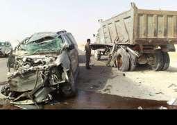 سعودی عرب: جدہ بریمان پُل اُتے ٹریفک حادثہ